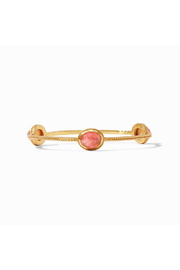 Julie Vos Calypso Bangle-Gold/Iridescent Rouge - Small - Product Mini Image