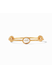 Julie Vos Calypso Bangle-Gold/Pearl - Medium - Product Mini Image