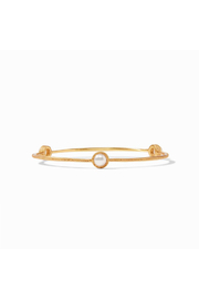 Julie Vos CALYPSO DEMI BANGLE-GOLD/MEDIUM - Product Mini Image