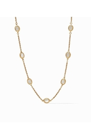 Julie Vos Calypso Demi Delicate Station Necklace-Gold/Mother of Pearl - Product Mini Image