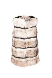 Calypso St. Barth Ivory Merveille Vest - Front cropped
