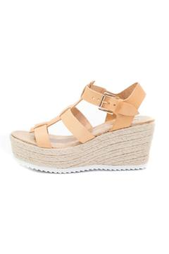 Cambio Vita Leather Strappy Wedge - Product List Image