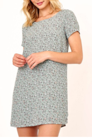 Olivaceous Cambridge Tee Dress - Front cropped