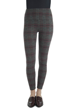 Shoptiques Product: Camden Plaid Center Seam Ponte Legging