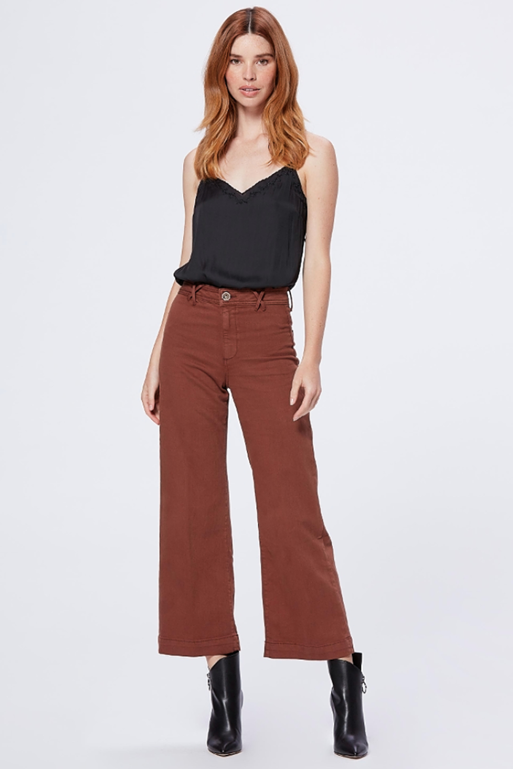 Paige Denim Camel Anessa Bottoms - Main Image