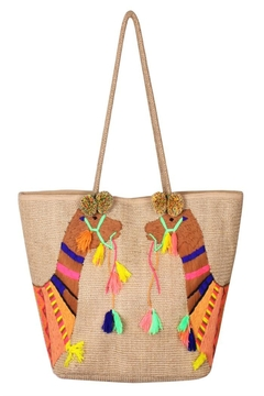 Patricia's Presents Camel Handwoven Bag - Alternate List Image