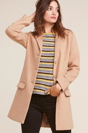 BB Dakota Camel Midi Coat - Product Mini Image