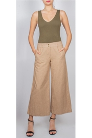Final Touch Camel Straight-Leg Trouser - Product Mini Image