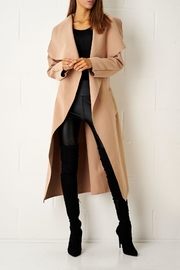 frontrow Camel Waterfall Coat - Product Mini Image