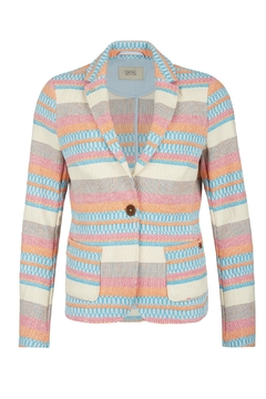Shoptiques Product: Colorful Modern Blazer