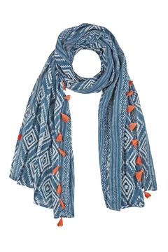 Camel Active Scarf With Tassels - Product List Image