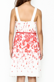 Camelot A Line Print Dress - Back cropped