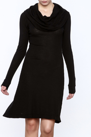 C/MEO COLLECTIVE Black Stretch Dress - Product Mini Image