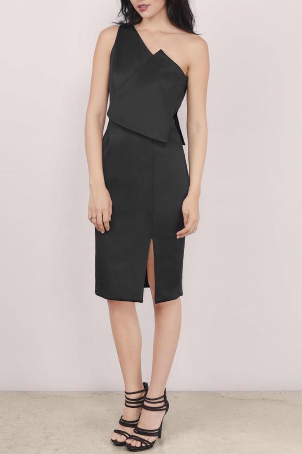 C/MEO COLLECTIVE Little Black Dress - Front Cropped Image
