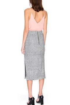 C/MEO COLLECTIVE Metallic Pencil Skirt - Alternate List Image