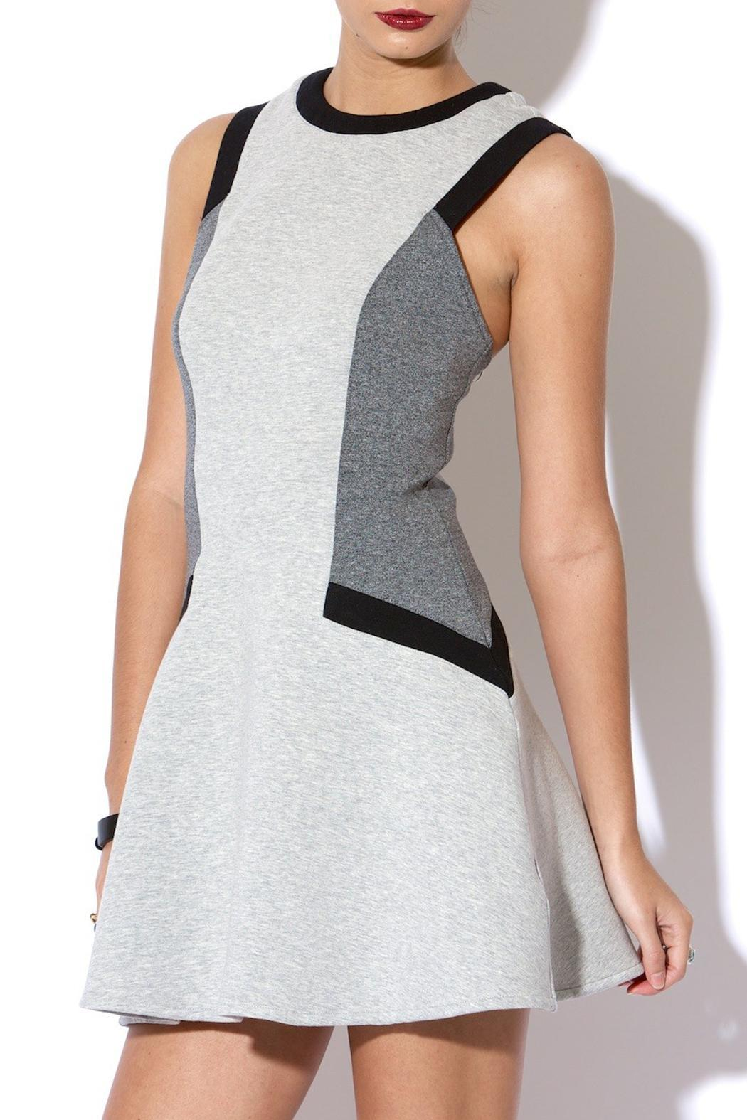 C/MEO COLLECTIVE Nightlight Dress - Front Full Image