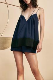 C/MEO COLLECTIVE Two Lanes Playsuit - Product Mini Image