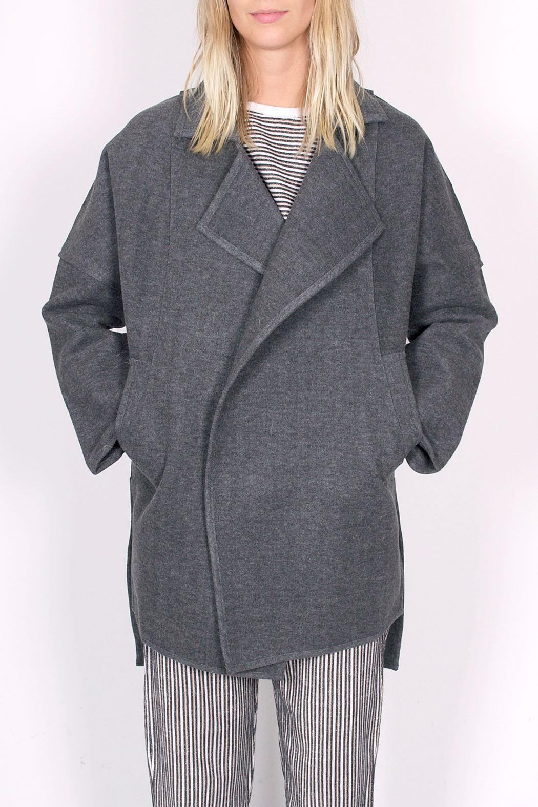 C/MEO COLLECTIVE Wrapped Up Coat - Main Image