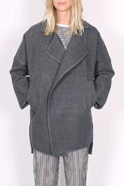 C/MEO COLLECTIVE Wrapped Up Coat - Front cropped