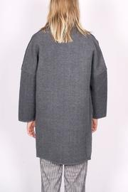 C/MEO COLLECTIVE Wrapped Up Coat - Back cropped