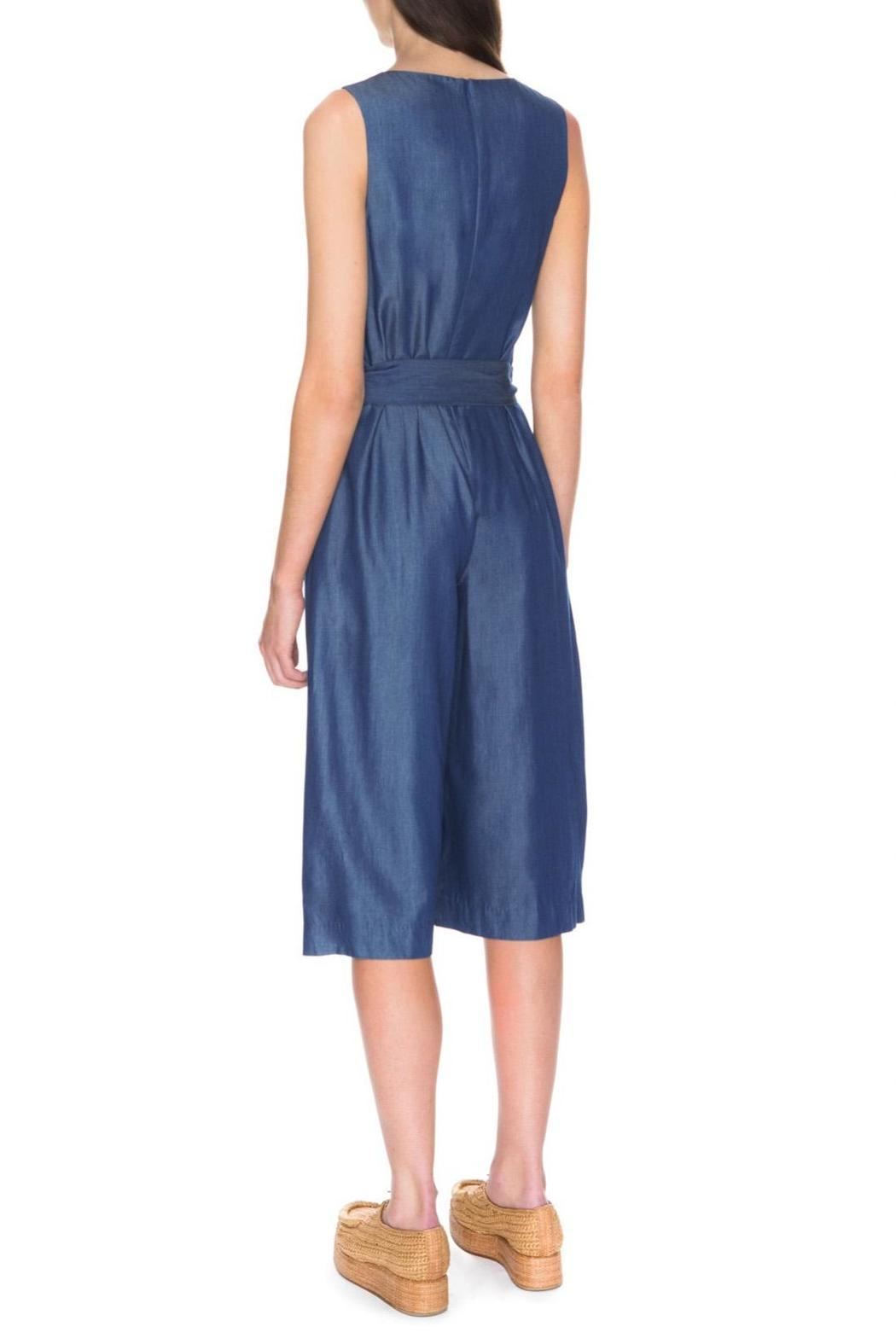 C/MEO COLLECTIVE Blue Dream Jumpsuit - Side Cropped Image