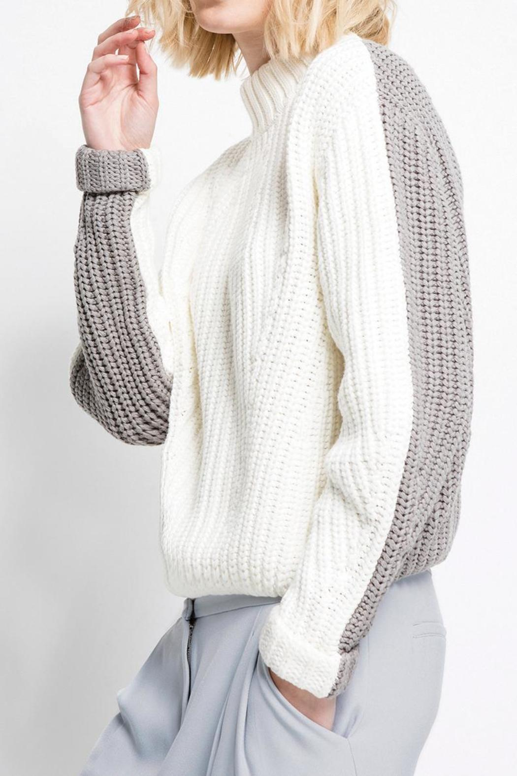 C/MEO COLLECTIVE Little Numbers Knit - Main Image