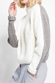 C/MEO COLLECTIVE Little Numbers Knit - Front cropped