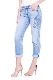Liverpool  Cameron Crop Boyfriend Jean in Skyline - Product Mini Image
