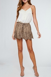 LLove USA Cameron Leopard Shorts - Product Mini Image