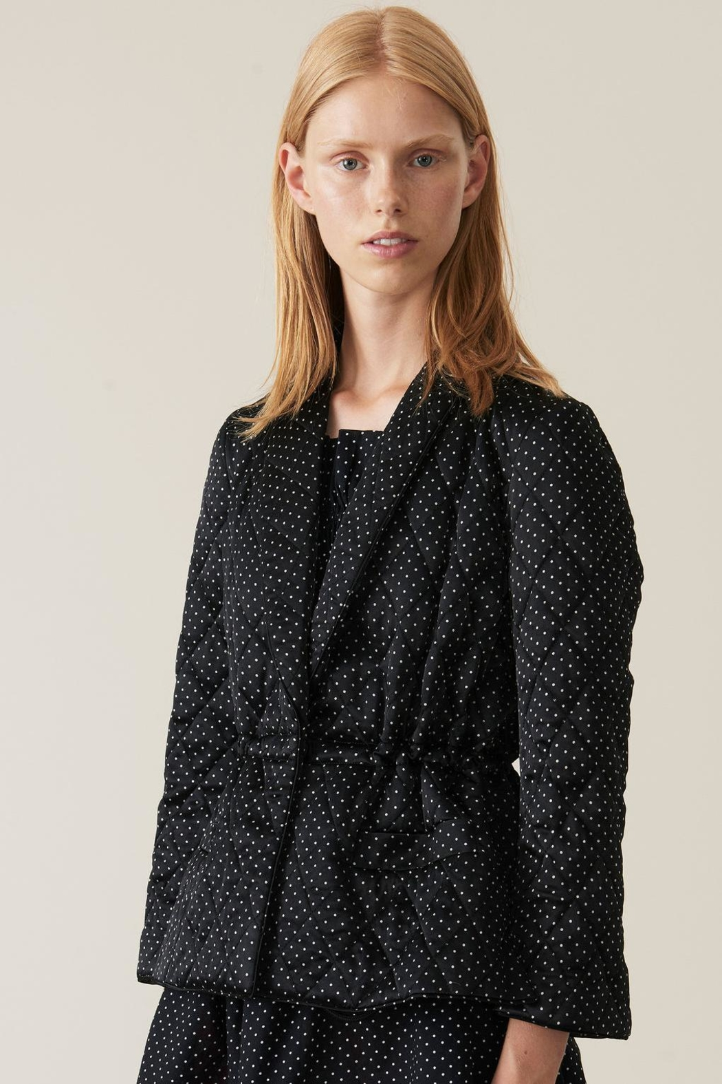 Ganni Cameron Quilted Jacket - Main Image