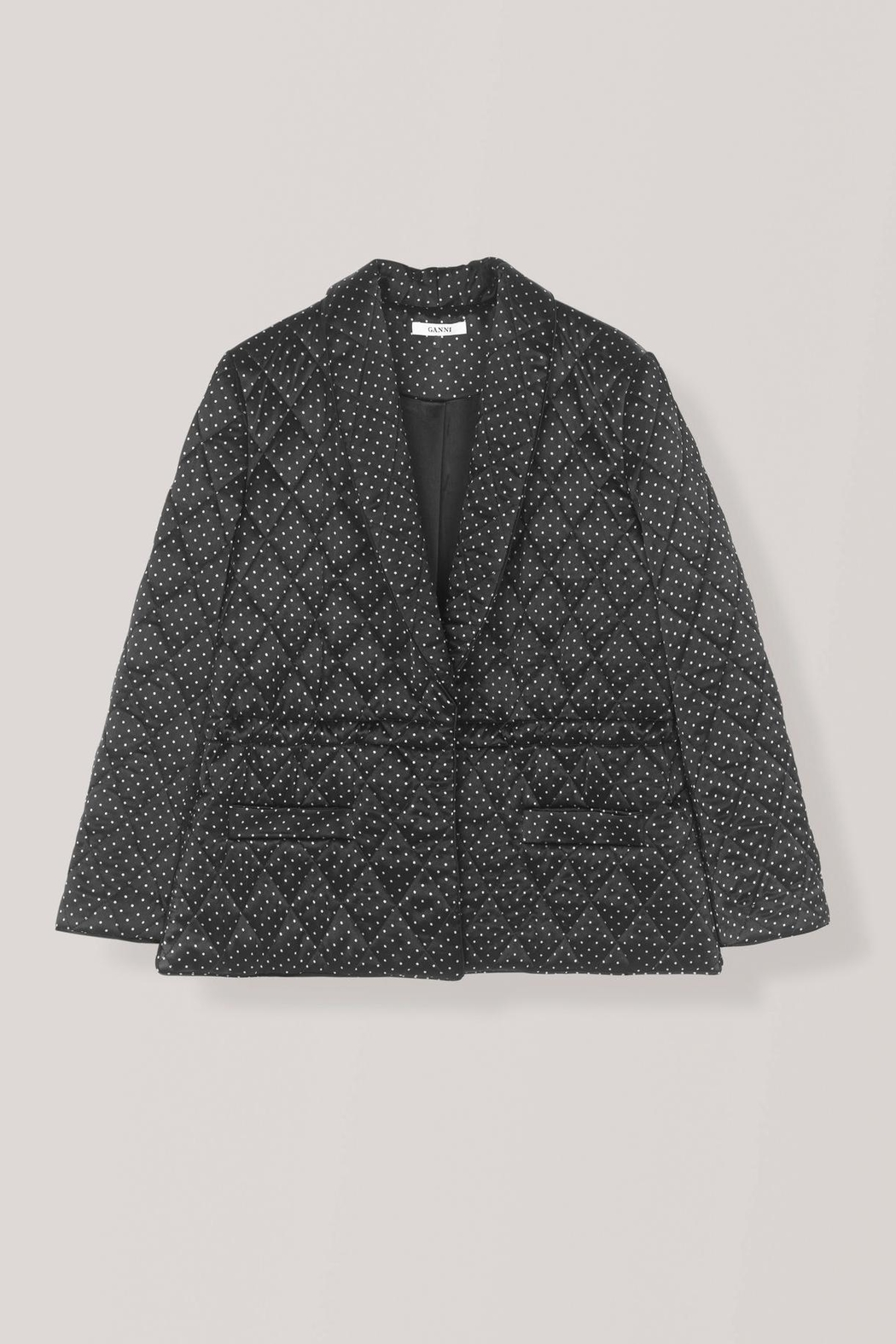 Ganni Cameron Quilted Jacket - Side Cropped Image
