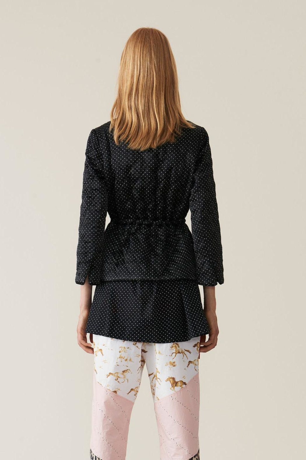 Ganni Cameron Quilted Jacket - Front Full Image