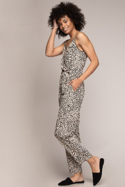 A Beauty by BNB  Cami Animal Print Jumpsuit - Front full body