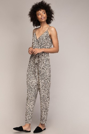 A Beauty by BNB  Cami Animal Print Jumpsuit - Front cropped