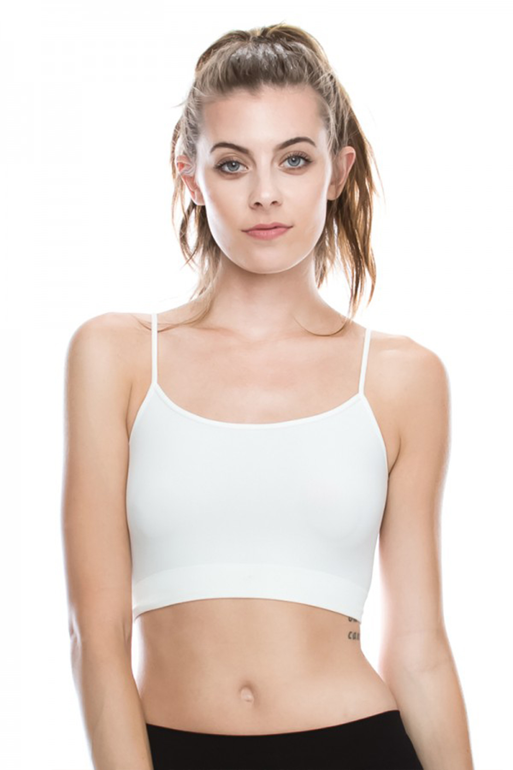 R+D Hipster Emporium  Cami Bralette - Front Cropped Image