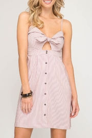 She + Sky Cami Buttondown Dress - Product Mini Image