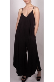 Final Touch Cami Jumpsuit Black - Product Mini Image