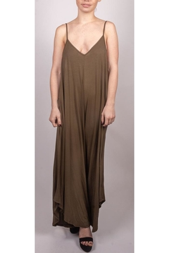 Final Touch Cami Jumpsuit Olive - Product List Image