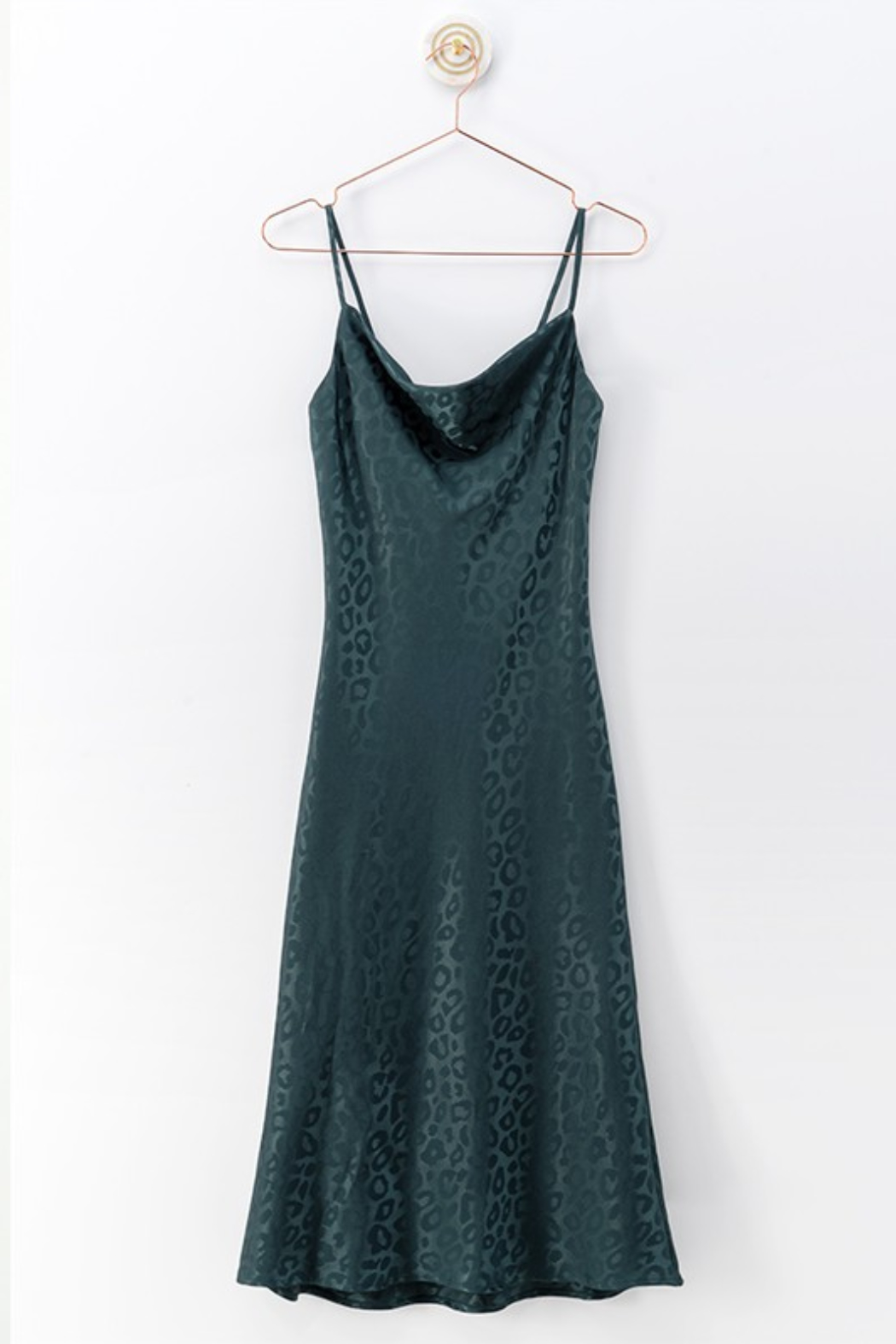 Olivaceous  Cami Midi Dress - Front Cropped Image