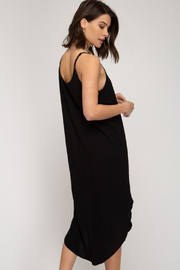 R+D Cami Midi Slip Dress - Front full body