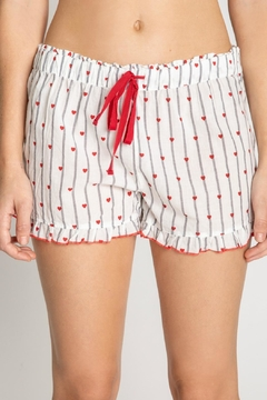 PJ Salvage Cami/shorts Hearts Set - Alternate List Image