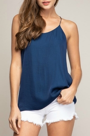 Naked Zebra Cami String Top - Front cropped