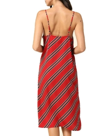 R+D Hipster Emporium  Cami Stripe Dress - Front full body