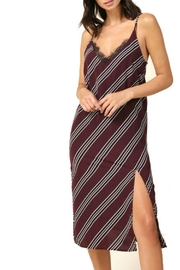 R+D Hipster Emporium  Cami Stripe Dress - Front cropped