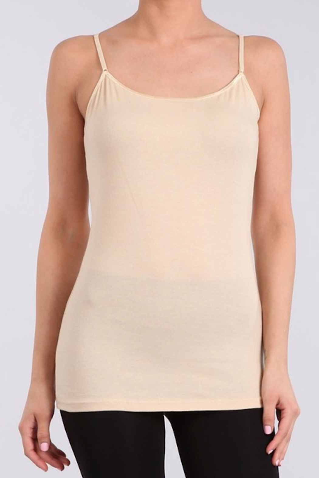 AAAAA Fashion Cami Tank Top - Front Cropped Image