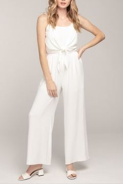 Everly Cami Tie-Front Jumpsuit - Product List Image