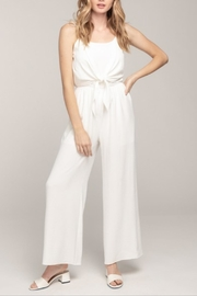 Everly Cami Tie-Front Jumpsuit - Front cropped