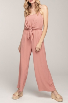 Everly Cami Tie Jumpsuit - Product List Image