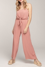 Everly Cami Tie Jumpsuit - Product Mini Image