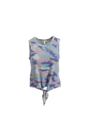tribal  Cami With Knot - Product Mini Image